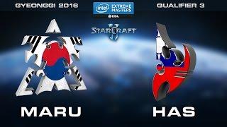 Download StarCraft 2 - Maru vs. Has (TvP) - Quarterfinals - Qualifier 3 - IEM Gyeonggi 2016 Open Qualifiers Video