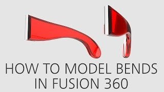 Download How to model bends in Fusion 360 Video