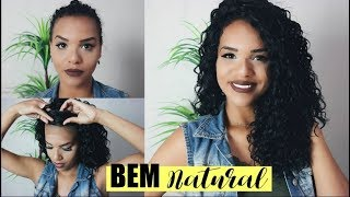 Download COMO COLOCAR PERUCA FRONT LACE E DEIXAR NATURAL BLISS CURL - ELEVATE STYLES Video