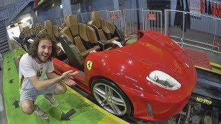Download El parque de montañas rusas de FERRARI! | Ferrari World Abu Dhabi Video