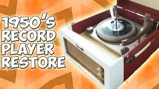 Download Recovering An Old 1950's Record Player Restoration [DANSETTE] Video