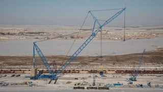 Download Gigantic Lifting And Loading Machines Cranes Winch Gantries (Mechanical Monsters) Video