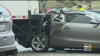 Download Several Injured In Major I-5 Pileup Near Gorman, Horse Killed Video