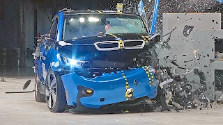 Download BMW i3 (2017) IIHS Crash Tests Video