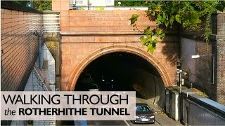 Download Walking Through The Rotherhithe Tunnel Video