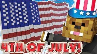 Download Minecraft America 4th Of July Lucky Block Mod - Trench Modded Minigame (BATTLEFIELD 1 MAP) Video
