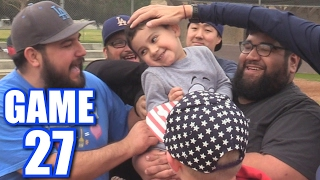 Download TICKLING LUMPY! | Offseason Softball League | Game 27 Video