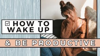 Download How To Wake Up and BE PRODUCTIVE Everyday ⏰ 5 Self Love Morning Habits Video
