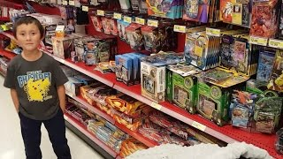 Download HUNTING FOR TOYS & POKEMON CARDS AT TARGET!! BUYING A WHOLE BOX OF STUFF! MEGA HAUL! SHOP 4 CLOTHES! Video