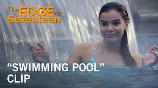 "Download The Edge of Seventeen | ""Swimming Pool″ Clip 