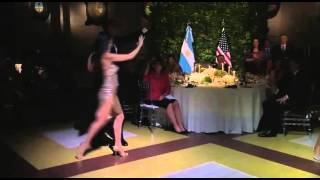 Download President Obama dancing the Tango at the Argentina State Dinner Video