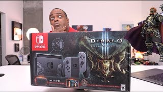 Download DIABLO 3 Eternal Collection SWITCH CONSOLE Unboxing and...😈 Video