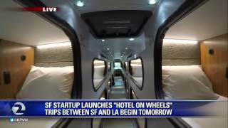 Download Ride Cabin makes the trip from SF to LA more comfortable Video