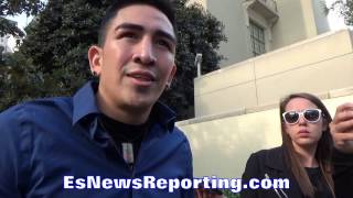 Download LEO SANTA CRUZ WOULD LIKE TO MAKE ″TRILOGY″ OUT OF CARL FRAMPTON REMATCH - EsNews Boxing Video