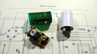 Download Reverse engineering an electronic fluorescent starter. Video