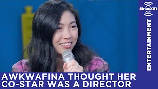 Download Awkwafina thought Henry Golding was the assistant director when they first met on set Video