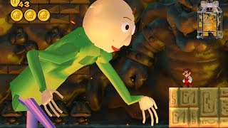 Download Baldi in New Super Mario Bros. Wii Video