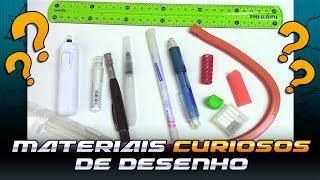 Download Materiais Curiosos de Desenho 1 - Profissão Desenhista Video