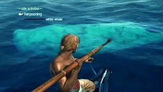 Download HUNTING WHALES!!! ALL Assassin's Creed Harpoon Hunts Including The White Whale/Moby Dick!!! Video