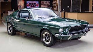 Download 1968 Ford Mustang Fastback Bullitt For Sale Video