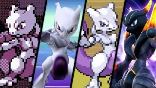 Download Evolution of Mewtwo Battles (1996 - 2018) Video