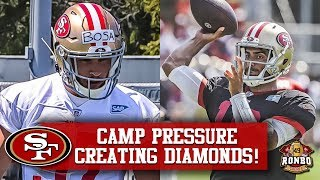 Download 49ers Training Camp Day 7 - Nick Bosa Is Standing Out, Garoppolo Refuses To Toss An Interception Video