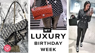 Download MY BIRTHDAY WEEK! Massive Luxury Shopping in HERMES, DIOR, CHANEL.... Video