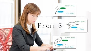 Download How to draw the impressive signatures beginning with ″S″! - 1 - Video