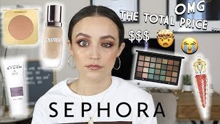 Download FULL FACE OF THE MOST EXPENSIVE MAKEUP AT SEPHORA $$$ Video