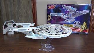 Download Air Hogs - Star Trek U.S.S. Enterprise NCC-1701-A - Review and Flight Video