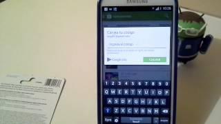 Download Canjear codigos de tarjetas Google Play Video