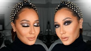 Download Glitter Holiday Makeup Tutorial | All Things Adrienne Video