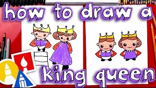 Download How To Draw A King And Queen Video