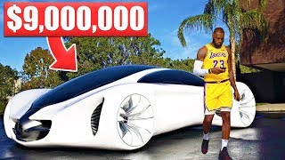 Download 12 Items LeBron James Owns That Cost More Than Your Life... Video
