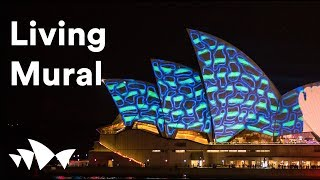 Download Sydney Opera House: Lighting the Sails 2015: Living Mural Video