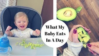 Download WHAT MY BABY EATS IN A DAY! | 8 Month Old Schedule Video
