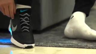 Download Cristiano Ronaldo trys on the new self-lacing Nike Hyperadapt 1.0 & says Nike is the BEST Brand Video