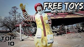 Download Top 10 Scariest McDonald's Happy Meal Toys Video