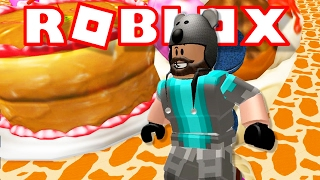 Download SLIDING DOWN A TONGUE?!?! | Escape Candy World Obby | ROBLOX Video