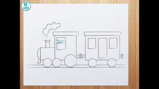 Download How to draw a train Video