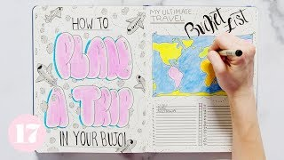 Download How To Plan A Trip In Your Bullet Journal | Plan With Me Video