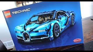 Download Lego Bugatti Chiron 42083 Unboxing - A pure joy. Video
