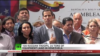 Download Russia reportedly sends 100 troops to Venezuela Video