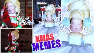 Download Recreating YOUR CHRISTMAS MEMES in Roblox Royale High Video
