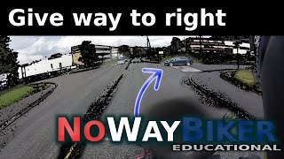 Download How give way to the right works (yield to the right/priority to the right) Video