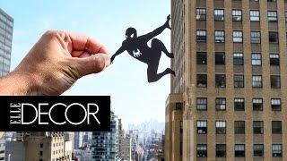 Download This Artist Transforms Famous Landmarks Using Paper Cutouts | ELLE Décor Video