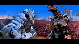 Download MechaZilla Vs Corrupted MechZilla!!! | Ultimate Epic Battle Simulator HD Video