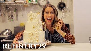 Download Lucie Fink Tries Out Wedding Cake Decorating For A Day | Lucie For Hire | Refinery29 Video