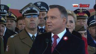Download Centralne obchody Święta Niepodległości w Warszawie - przemówienie Prezydenta Andrzeja Dudy Video