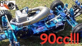 Download Darrens Rcmax 90cc HYBRID WOWWWWWW!!! Video